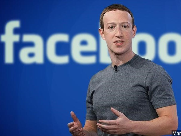 Mark Zuckerberg CEO e presidente do Conselho do Facebook